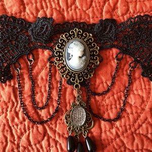 Steampunk Victorian Choker Necklace